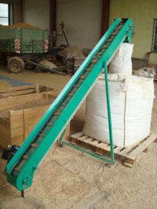 conveyor belt for filling Big Bags